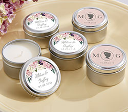 Personalized Travel Candle - English Garden