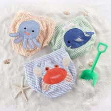 """Beach Bums"" 3-Piece Diaper Cover Gift Set (0-6 or 6-12 Months)"