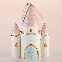 Simply Enchanted Castle Porcelain Bank